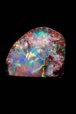 I'm in love with opal. Honestly I'd rather have that in my wedding ring than diamonds.: Gems Prisms Crystals, Geology Stones Gems Crystals, Gemstones Minerals, Beautiful Opal, Minerals Gems Rocks Shells, Rocks Gems Minerals, Gems Minerals Fossils,