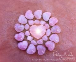 I breathe in the energy of LOVE. ♥ #hearts #light #soulmates www.angelcardreadingsforyou.com: Rose Quartz, Robyn Nola, Rosequartz, Roses, Quartz Mandala, Beautiful Rose, Light