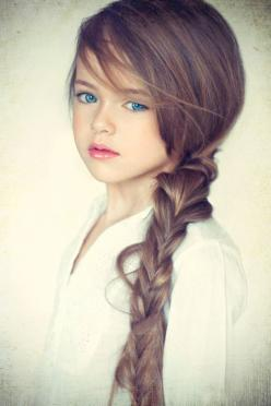 I get jealous of some children.. This isn't fair.: Girls, Kristina Pimenova, Beautiful, Hairstyle, Children, Hair Style, Baby, Kids, Eye