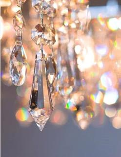 I hang thes in a window that faces south so the can catch both the early morning sun and the sunset and they shower my walls with their rainbows.  Some are teardrops, some are snowflakes but I love the round ones best because the twirl around and chase ea