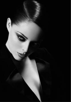 I like these sort of black and white edgy looks... but with my hair down.: Coco Rocha Photoshoot, Black And White Photoshoot, Edgy Fashion Photography, Fashion Photoshoot, Edgy Photoshoot, Androgynous Photoshoot, Dramatic Photoshoot