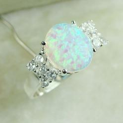 I love Opal!!! :') This reminds me of the ring that Todd gave Christy :'D in the Christy Miller series by Robin Jones Gunn. I officially want an opal engagement ring.: Opal Rings, Wedding Ring, Opal Jewelry, Opal Engagement Rings, Opals