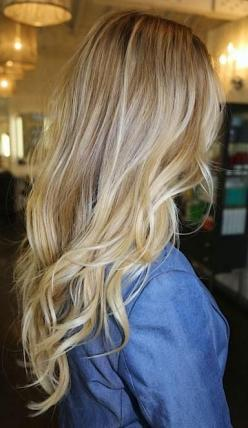 I love to change my hair colour and hair style. I frequently am changing it, and have been blonde, brunette, redhead, and pink haired. I get bored of things easily and like to change it up.: Hair Ideas, Hairstyles, Hair Colors, Hair Styles, Blonde Hair, B