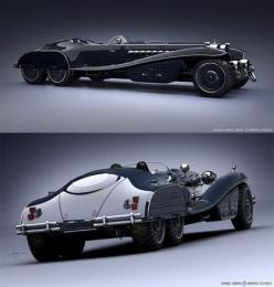 I wonder if the bat mobile was the inspiration for this car?: Classic Cars, Captain America, Wheels, Auto, Cars Bikes, Concept Cars, Vehicles, Design