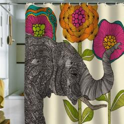 if only i could justify spending that much on a shower curtain.: Bathroom Shower Curtain, Elephant Shower Curtains, Cute Bathroom, Awesome Shower, Valentina Ramos, Deny Designs, Duvet Cover, Aaron Shower