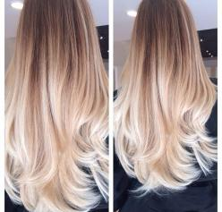 If you have long, thick and healthy hair and you are not afraid of going for a different shade, then the Platinum blonde Ombre style is definitely a great ...: Hair Colors, Ombre Hair Color, Hair Styles, Blonde Hair, Blonde Ombre, Long Hair, Google Search