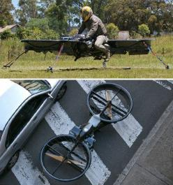 If you've always wanted to glide around the air on a hoverbike, it looks like those day dreams could turn into reality soon. An Australian mechanical designer, Chris Malloy, has been hard at work over the past two and a […]: Car, Gadgets, Technology, Stuf