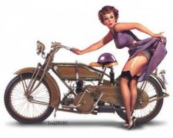 Image Detail for - vintage indian motorcycles: Harley Davidson, Motorcycles, Pinups, Bike, Vintage, Pinup Girls, Pin Ups, Pin Up Girls