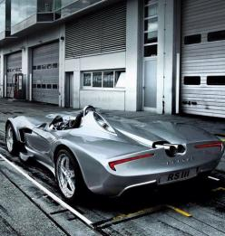 """In 2009 the Veritas RS III Roadster super sports car won the """"Best Super Car 2009"""" award in London. Strictly limited hand production of only 30 vehicles.  More About Us: http://krigarealestate.com: Sports Cars, Rsiii"""