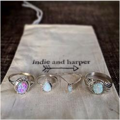 indie and harper: Opal Rings, Indie And Harper, Jewelry Accessories, Harper Rings, Jewelry Piercings, Beauty Queen, Rings Things