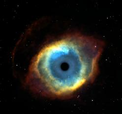 "It's called ""The Eye of God""...of course, space travel is out of the question...but it's mysterious and peaceful all at once...Jesus! Quit staring at me!: Amazing Universe, Eyes Clouds, Eyes And Nebulas, Beautiful Universe, Big Eyes, Blue"
