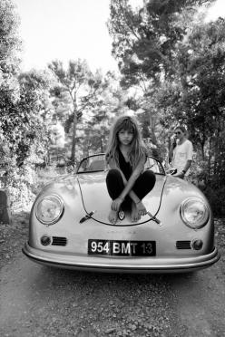 It's That Girl Again: Rose, Fashion, Girl, Cars Collection, Porsche, People, Thylane Blondeau, Black, Kid