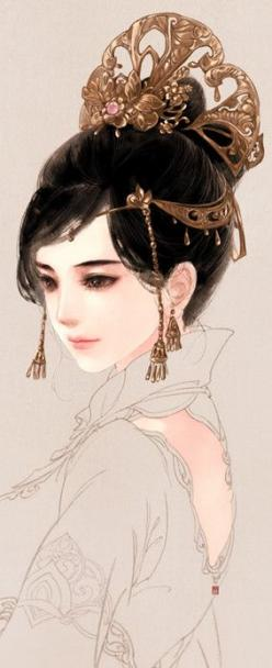It was earlier pinned as Linh Cinder from the Lunar Chronicles, a series of four books by Marissa Meyer. I just like it.: Fantasy, Princess, Girl, Queen, Illustration, Chinese Art, Anime, Character