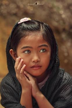 Ivy ~ by Gansforever Osman, a Malaysian schoolteacher/photographer (c): Photos, Amazing Face, Beautiful Eyes, Children, Beautiful Faces, People, Kid
