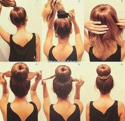 Jenna Benna & Co thinks this awesome Chignon Bun that is so versatile for every occasion on or off campus! Incredibly classy and easy!: Hair Ideas, Make Up, Hairstyles, Hair Styles, Sockbun, Makeup, Socks, Beauty, Sock Buns