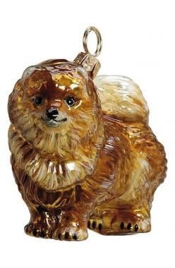 Joy to the World Collectibles 'Pomeranian' Ornament available at #Nordstrom---Beautiful but pricey at $45!: Joy, Pet, Pomeranian Christmas, Pomeranian Chrismas, Precious Poms, Dog, Christmas Ornaments, Collectibles Pomeranian