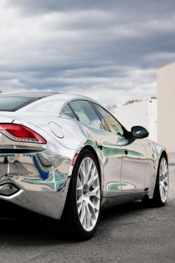 Justin Bieber's Chrome Fisker Karma - Hot or Not? Click to check out #TinderForCars coming soon: Chrome Fisker, Fine Photo, Fisker Karma, Car Fisker, Fisker Karma