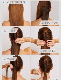 Ladies Hair Styles Tutorials...: Hairstyles, Hairdos, Hair Styles, Hair Tutorial, Makeup, Sleek Vixen, Hair Do, French Twist, Vixen Hair
