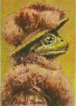 Lady Frog ACEO original by mictomart on Etsy: Favorite Frogs Critters, Frog Prince Illustration, Artsy Frogs, Frog Prince Art, Animal Illustrations, Froggy, Frogs Art, Frog Illustrations