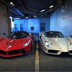 LaFerrari and Enzo: Laferrari Enzo, Supercars Speed, Hot Cars, Dream Cars, Dream Rides, Cars Bikes, Auto Supercar, Italian Supercars, Ferrari Laferrari