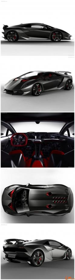 Lamborghini Sesto Elemento - It's name is a reference to the atomic number of carbon, in recognition of the car's extensive use of #carbonfibre. Badass knowledge! Now, hit the image to see it #demolish the track... ---> Attract your dreams FAST