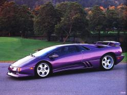 Lamborghini - Strangely enough - this is one of my favorite colors on this car.... Pretty sure I have a shirt, tie, cufflinks, and handkerchief to match it already...: Purple Cars, Purple Lamborghini, Lamborghini Diablo, Favorite Color, Dream Cars, Purple