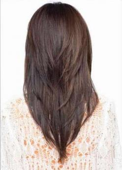 Layered Hairstyles 2015 Top 7 Hairstyle Designs for Women | Styles Hut: Haircuts, Idea, Hairstyles, V Cuts, Hair Styles, Long Hair, Makeup, Hair Cuts