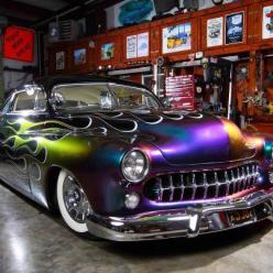 Lead Sled with Camellion painted flames... oh yeah! Not your everyday ride so don't insure it with your everyday Insurance Call House of Insurance in Eugene, Oregon 541-746-4546 www.myhouseofinsurance.com: Hot Classic Rides, Street Rods, Classic Cars,