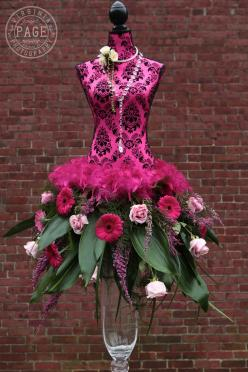 ❧✿ Les fleurs dans la mode ❧✿: Centerpiece, Fashion, Flower Art, Flower Dresses, Dressforms, Floral Art