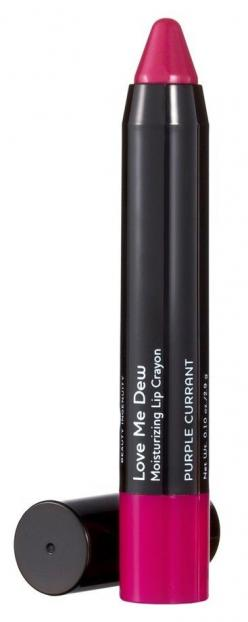 Lip color in a crayon. How easy!: Laura Geller, Purple Lipstick, Dew Moisturizing, Revlon Lipstick
