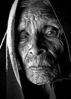...long life, with many lessons learned and stories to tell, if she honors you in sharing them.: Life, Faces, Soul, People, Photography, Black, Eye