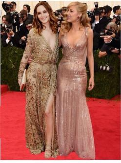 Love both these outfits Leighton Meester & Blake Lively at the 2014 Met Gala.: Gossipgirl, Met Gala, Blake Lively, Red Carpet, Xoxo Gossip, Leighton Meester, People, Blakelively, Gossip Girls