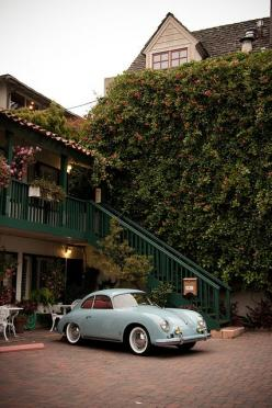 Love the color of this Porsche. New cars just don't look as good in this blue: Baby Blue, Cars Collection, Classic Cars, Porsche356, Auto, Vintage Porsche, Porsche 356, Porsche Classic