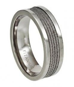 love this male wedding band three cord string is not easily broken: Mens Wedding Rings, Mens Rings Wedding, Male Wedding Bands, Titanium Rings, Titanium Wedding Rings, Men'S, Men Wedding Rings, Mens Titanium Wedding Band