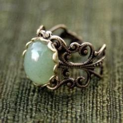 <3: Fashion, Style, Vintage Rings, Jewelry, Filigree Ring