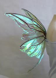 Luminous but not a real butterfly :: Found the artist on deviantArt :: Small wire Titania Fairy Wingsby ~FaeryAzarelle: Beautiful Butterflies, Luminous Turquoise, Titania Fairy, Flutterby, Butterfly Wings, Fairy Wings