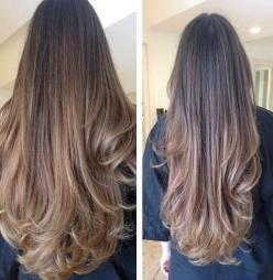 """Lusciously long hair! Get the look with 100% Remy Human Hair Extensions   45 Shades Available   Variety of Lengths from 15"""" to 26""""   Double Wefted Extensions Available   Free Worldwide Delivery   Prices from £34.99   Click image to shop now: Hairs"""