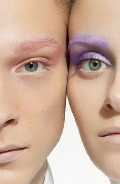 MAC Coloured Pressed Pigments - pastel makeup: Pastel, Color, Makeup, Beauty, Hair, Eye
