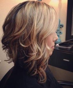 Medium Hairstyles for Women 2015: Haircuts, Medium Length, Hairstyles, Hair Styles, Wavy Bob, Hair Cuts, Long Bob, Hair Color