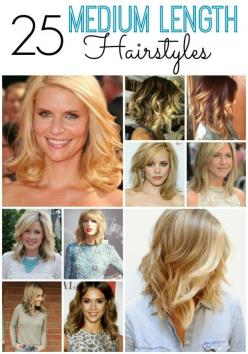 Medium Length Hairstyles: Hairstyles You Ll, Medium Lengths, Hair Styles, Medium Length Hairstyles2 Jpg, 25 Medium, Medium Hairstyles, 25 You Ll, Hair Tips, Hair Inspiration
