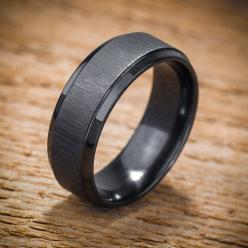 Men's Wedding Band Comfort Fit Interior Black Zirconium by spexton, $299.00: Mens Black Wedding Band, Men'S Wedding Band, Black Men Wedding Ring, Wedding Bands, Black Wedding Band Men, Mens Black Wedding Ring, Men'S Wedding Ring, Black Mens We