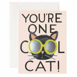 Meow, you're cool.: Cool Cats, You Re, Cat Cards, Greeting Card, Rifle Paper Co, Rifles, Products