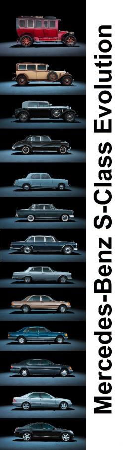 Mercedes-Benz S-Class Evolution: Picture, Mercedesbenz, Automobile, Quote, S Class Evolution, Autos Cars, Mercedes Benz S Class, Classiccars Autos