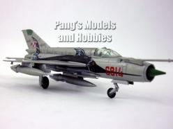 Mikoyan Mig-21 Fishbed Poland 1/100 Scale Diecast Model by Amercom: Mikoyan Mig 21, Fishbed Poland, Seat Model, Scale Diecast, Poland 1 100