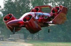 "Moller M 400 Skycar interesting. It is a 4 passenger skycar and cruises at 275 mph. Is a prototype personal VTOL aircraft – a ""flying car"" – invented by Paul Moller who has been attempting to develop such vehicles for fifty years. Wikipedia Top sp"