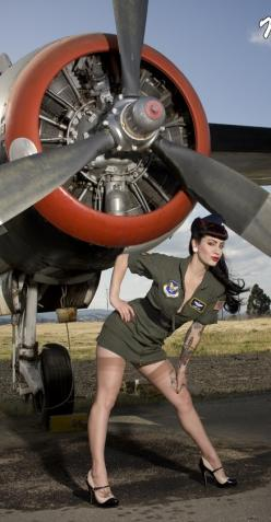 ms air force http://thepinuppodcast.com  re-pinned this because we are trying to make the pinup community a little bit better.: Nose Art, Pinupgirls, Pinups, Aviation Pin, Pinup Girls, Pin Ups, Alternative Pinup, Pin Up Girls