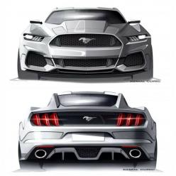 Mustang Concept... Wish the production model looked this bad ass.: Auto S, Car Sketch, Mustangs, Ford Mustang, Cars, Future Car, Design Ford, Concept Cars
