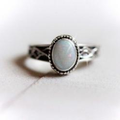 Natural Large Solid White Opal Luxury Ring: Rings N Tings, Secret Wedding, Gift Ideas, Opal Luxury, Engagement Wedding Rings