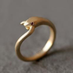 Open Mouth Snake Ring in Brass with Purple Amethyst and Diamonds - Michelle Chang on Etsy: Snake Ring, Michelle Chang, Style, Rings, Jewelry, Snakes