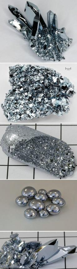 Osmium is both the densest and the rarest element that you can dig out of the Earth. It's so hard that it's used (as an alloy) in places with constant pressure and wear, like the tips of fountain pens. One single cubic inch of this stuff weighs ne